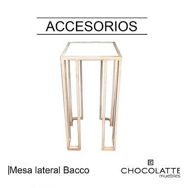 Mesa lateral Bacco