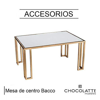 Mesa de centro Bacco