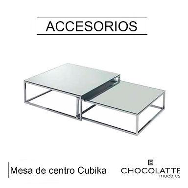 Mesa de centro Cubika