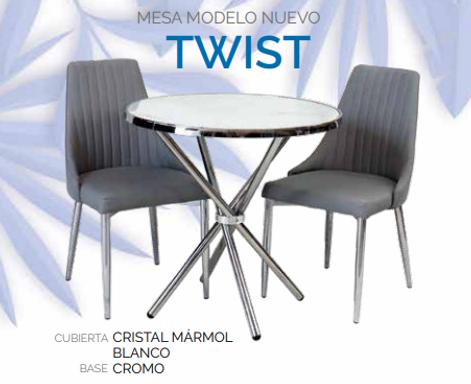 Mesa de Comedor Twist Blanco