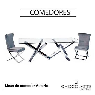 Mesa de comedor Asterix
