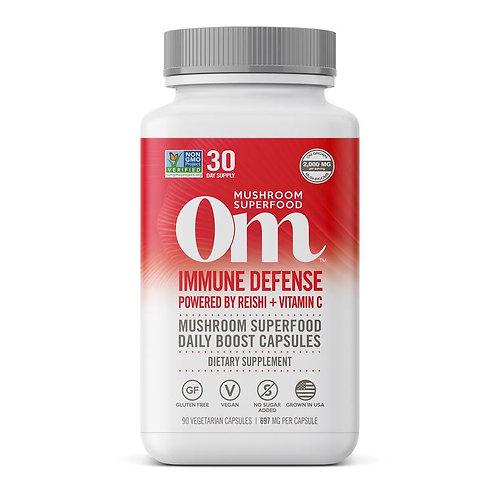 Immune Defense Reish + Vitamin C Capsules