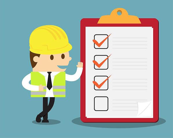 Checklist reflexs