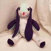 """Violet"" Plush Bunny"