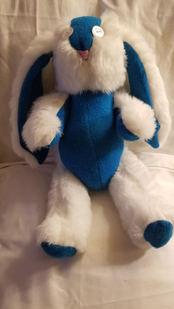 """Flossi"" Plush Bunny"