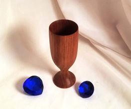 Full Size Redwood Goblet