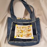 "Handmade Purse - Repurposed Jeans/Denim ""Patchwork Style"""