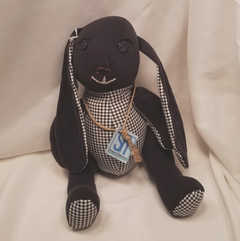 """Licorice"" Plush Bunny"