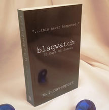 Blaqwatch: 30 Days of Summer, by M.R.Davenport