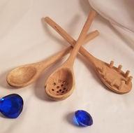 Kitchen Utensil Set - Oak