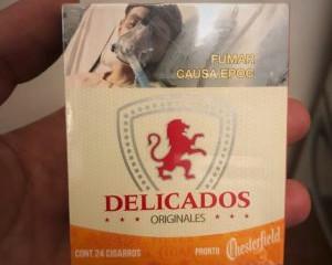 Se despide del mercado Cigarros Delicados