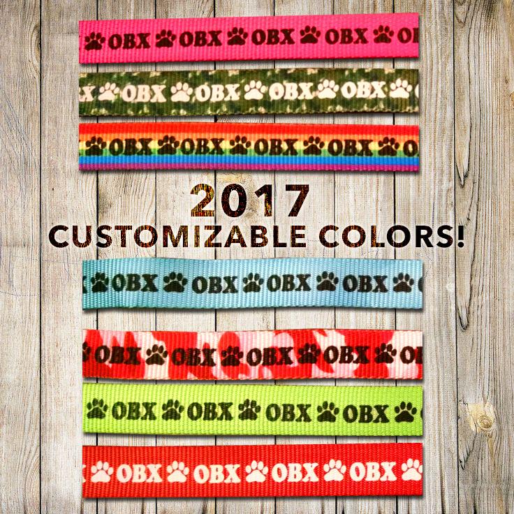2017 Customizable colors