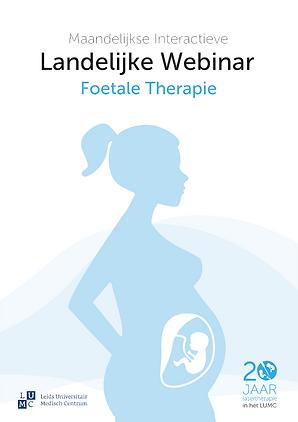 Flyer Webinar Foetale Therapie (afbeeldi