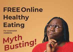 New Healthy Eating Myth Busting Drop in