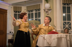 Merry Wives of Windsor at The Castlereagh 5 by Opera Bites - photography by Michele Mossop. Rae Levi