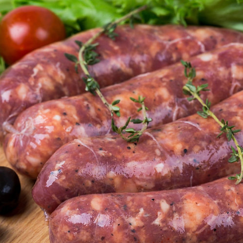Beef Sausages - Pack of 6