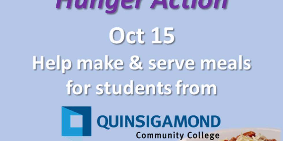QCC Hunger Action Dinner Volunteer Signup