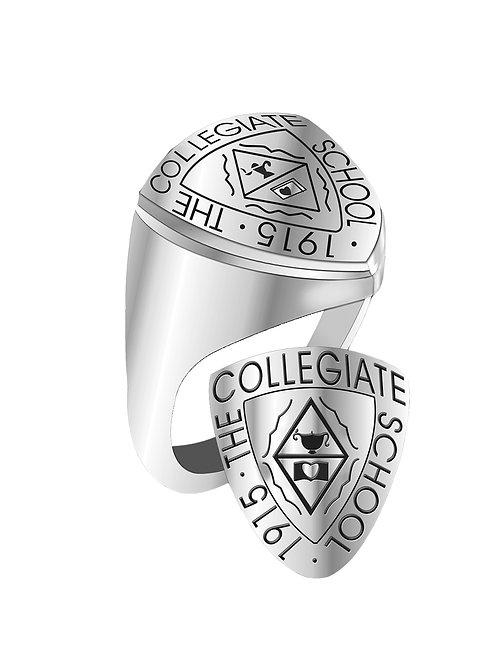 Collegiate School Signet Ring