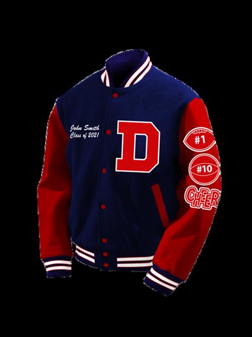 Dinwiddie HS 2021 Letter Jacket