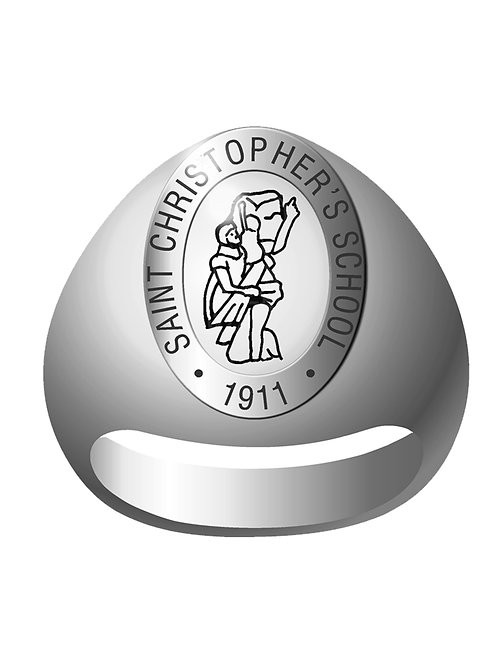 St. Christopher's School Signet Ring- Style 2 C958X