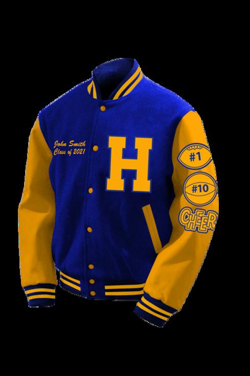Hopewell HS 2021 Letter Jacket