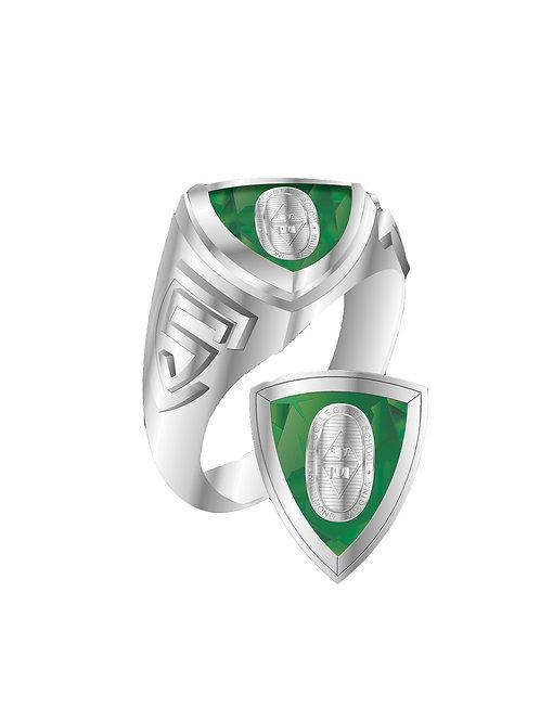 Collegiate School Stone & Crest Ring- Ladies ONLY