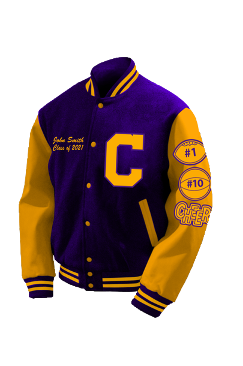 Lunenburg Central HS 2021 Letter Jacket