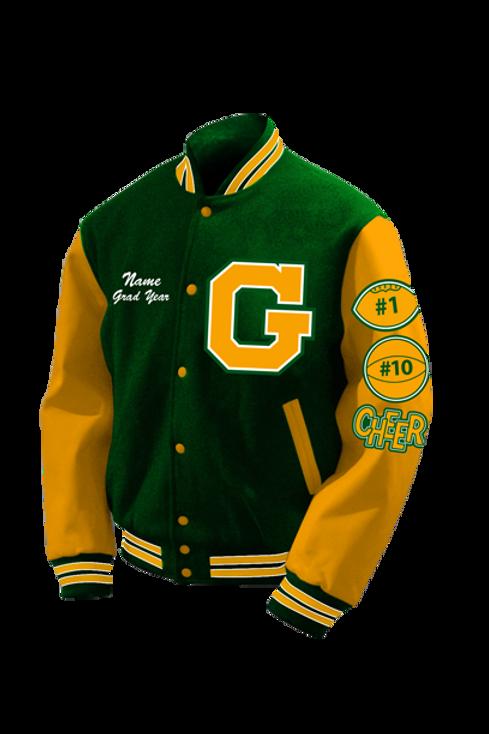 Greensville HS 2021 Letter Jacket