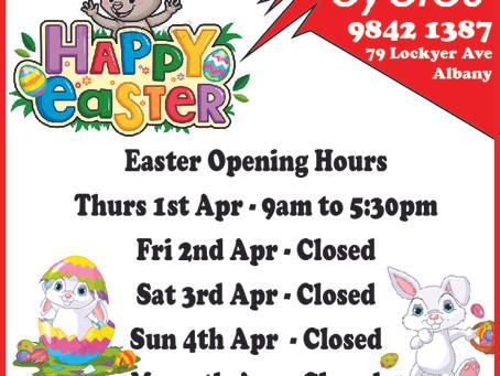 2021 Easter Long Weekend