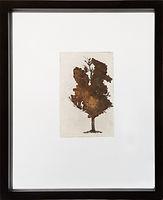 boom in glas met roest III