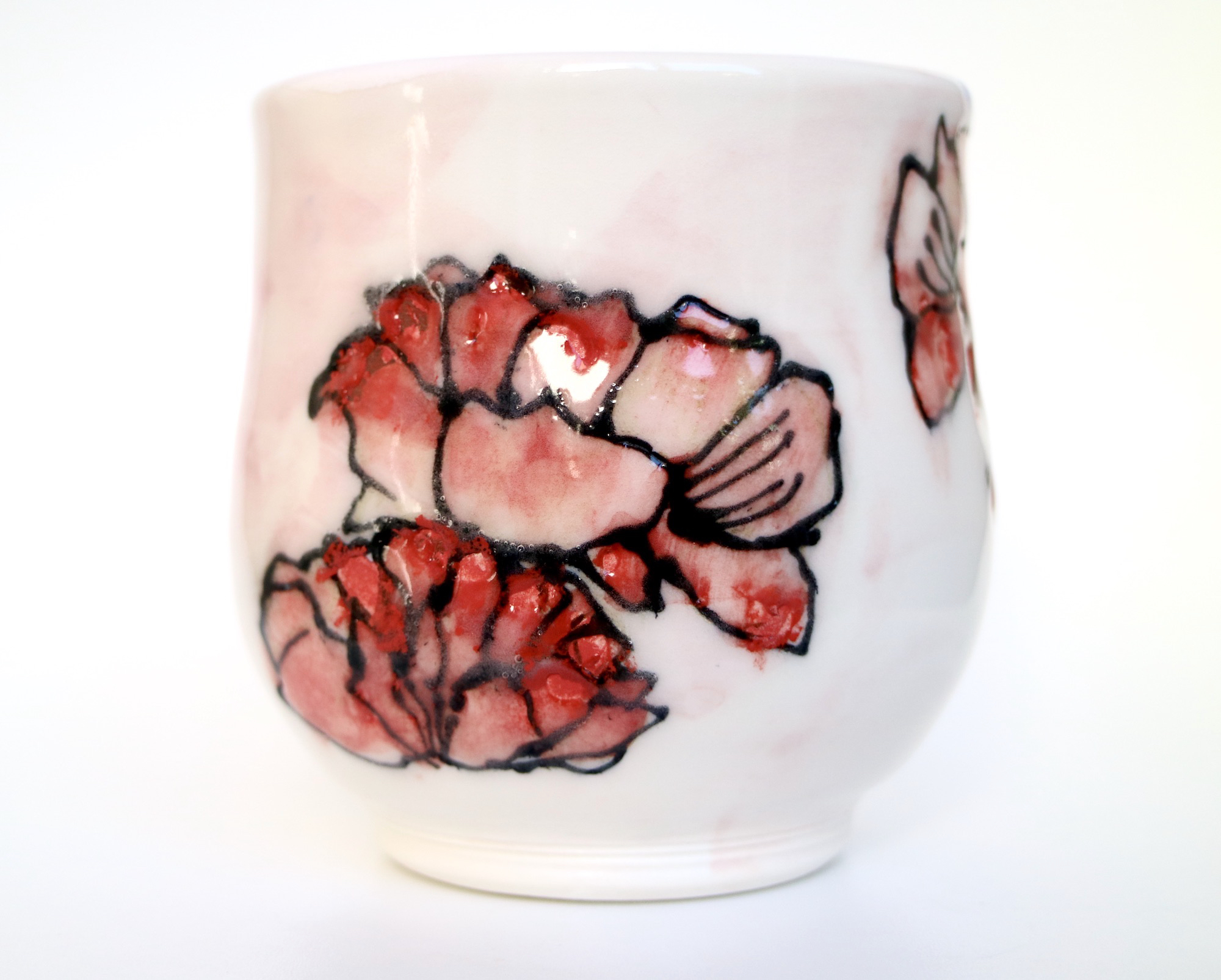 Red Petals Mug