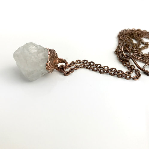 Rock Crystal Necklace