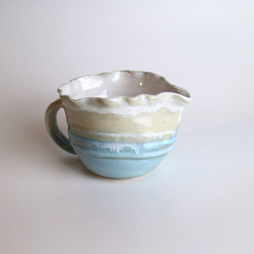 Scalloped Rim Jug