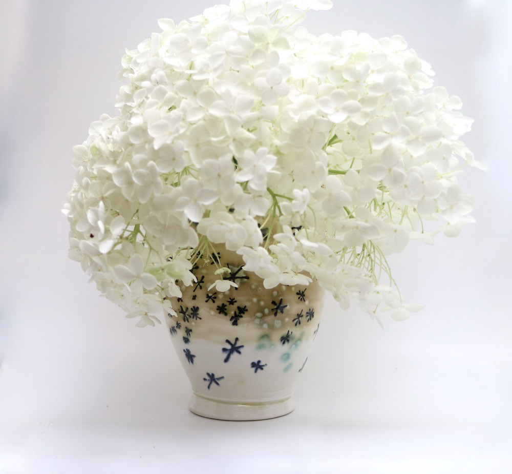 Sparkle Ceramic Vase