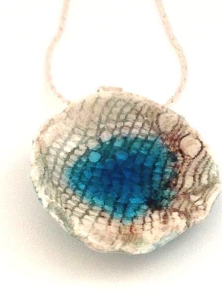 Mystic Waters Ceramic Necklace