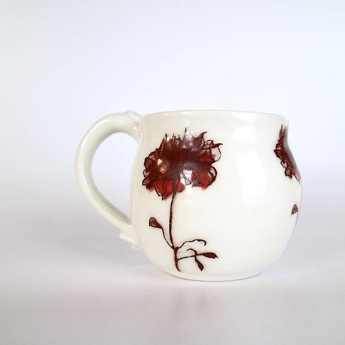 Shadow Rose Ceramic Mug