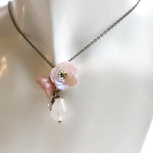 Blush Petals Necklace