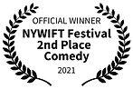 OFFICIAL WINNER - NYWIFT Festival   2nd