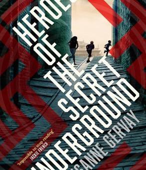 On My Bookshelf: Heroes of the Secret Underground by Susanne Gervay