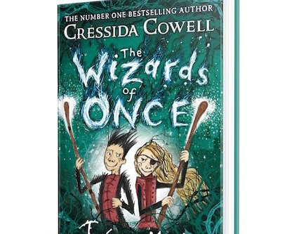 On My Bookshelf: Wizards of Once, Twice Magic by Cressida Cowell