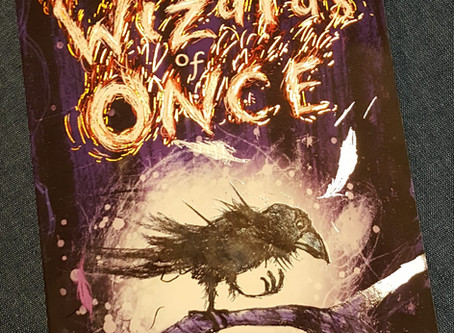 On My Bookshelf: The Wizards of Once by Cressida Cowell