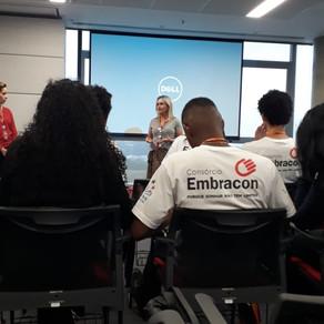 Entrega dos certificados na EMBRACON - Vila Albertina