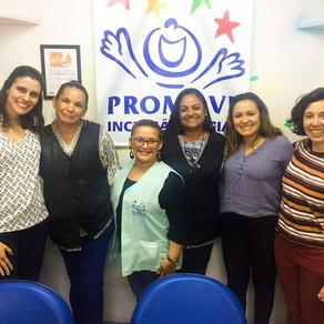 Reunião do LeME com a equipe da PROMOVE