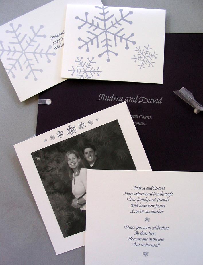 Multi-element Wedding Invitation