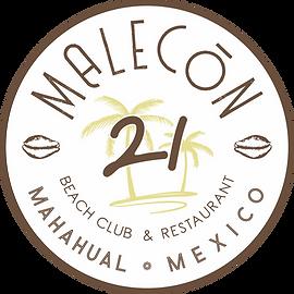 MALECóN 21, Restaurante y Club de Playa en Mahahual, Costa Maya, Mexico