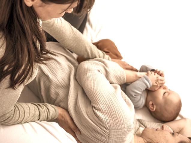 Shiatsu nach der Geburt für Mama & Kind