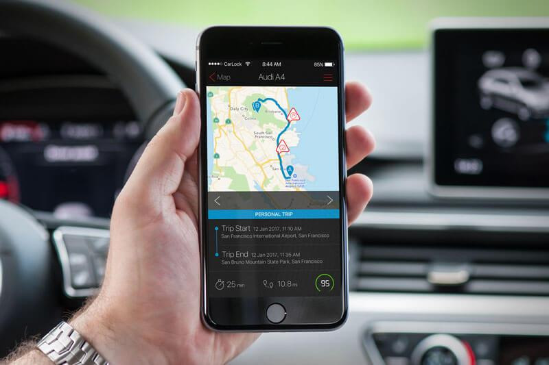 app showing how gps works in car