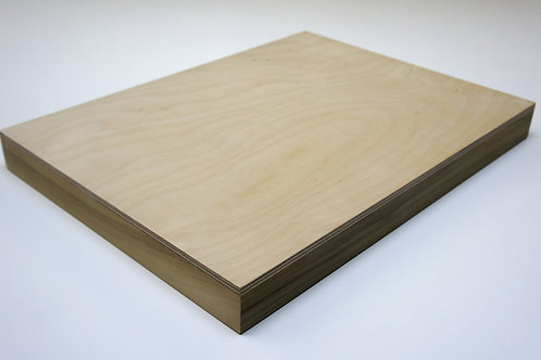 38mm Birch Plywood Panel: Length 20cm