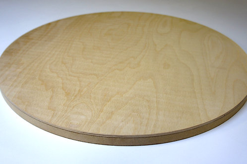 24mm Circle Birch Plywood MDF Z1 Panel 80cm