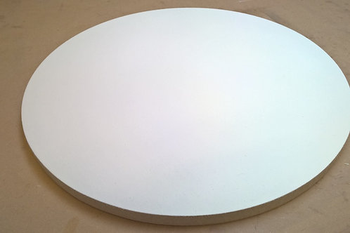 24mm Circle Panel with Oil Primed Linen - 60cm